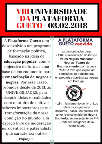 PLATAFORMA GUETO